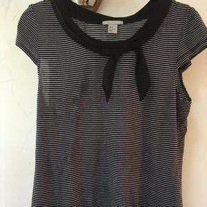 H&M Striped Tee M